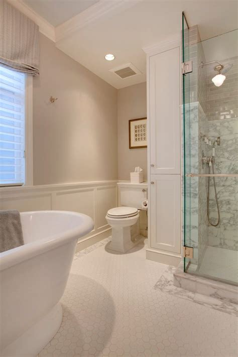 Bathroom Double Vanity Ideas benjamin moore collingwood bathroom traditional with flush