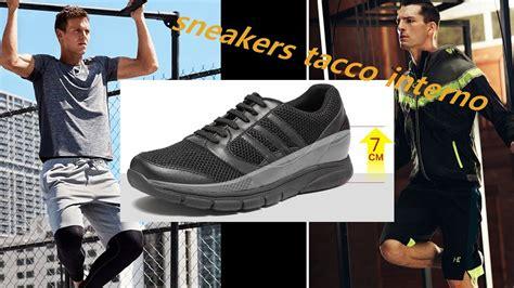 sneakers tacco interno chamaripa sneakers tacco interno scarpe rialzate uomo