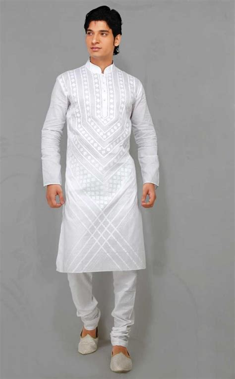 new pattern kurta gents new fashion styles latest gents white kurta design 2013