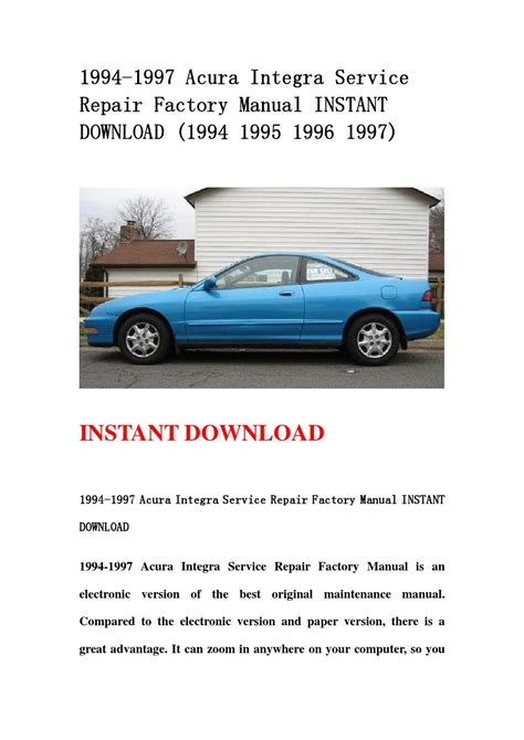 on board diagnostic system 1996 chevrolet lumina electronic throttle control service manual 1996 acura integra repair manual free free 1998 acura integra repair manual