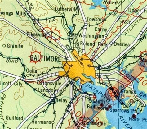 maryland map airports abandoned known airfields maryland northwestern