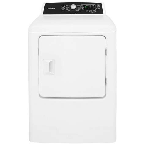 7 Best Dryers by Ffre4120sw Frigidaire 6 7 Cu Ft Electric Dryer White
