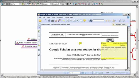 tutorial zotero indonesia docear the academic literature suite teaser i doovi
