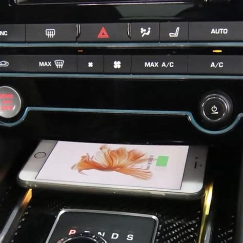 wireless charger  jaguar  pace xe xf   car