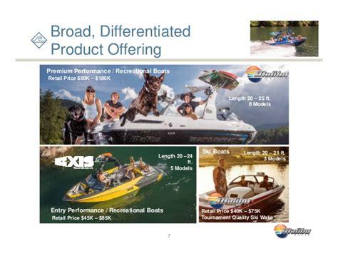malibu boats net income malibu boats investor presentation icr january 2016