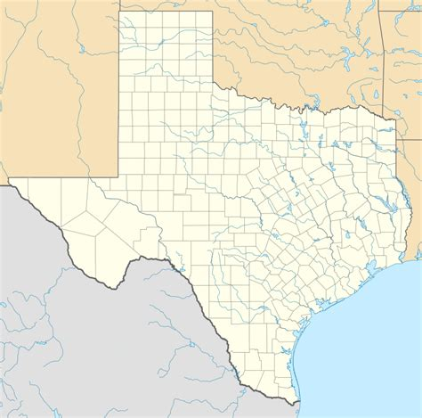 where is texas located on the map file usa texas location map svg wikimedia commons