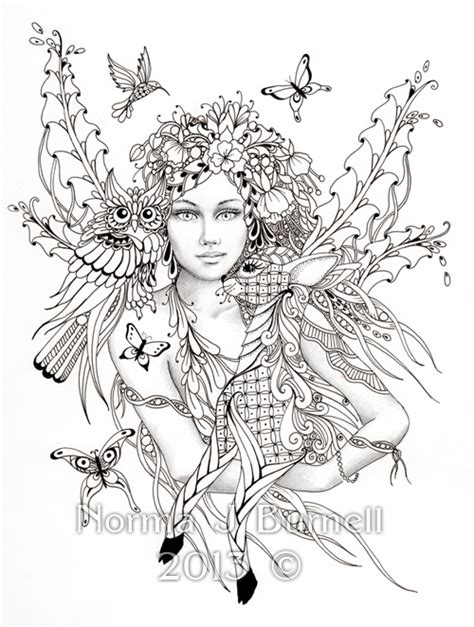 Beautiful Adult Fantasy Coloring Pages Coloring Pages 1055 Free Beautiful Coloring Pages