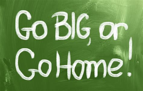 go big or go home social centered selling