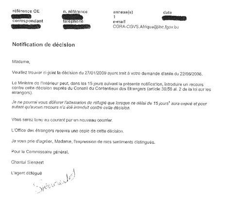 Lettre D Acceptation De Stage Points De Vue Sur Un Centre D Accueil Pour Demandeurs D Asile Bovigny Belgique