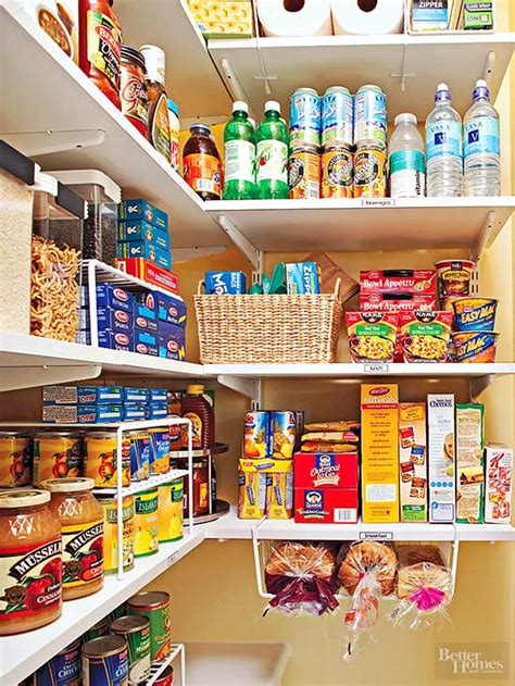 Organize Your Pantry by Organize Your Pantry By Zones