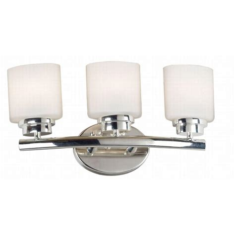 Polished Nickel Vanity Lights by Martha Stewart Living Seal Harbor Collection 3 Light