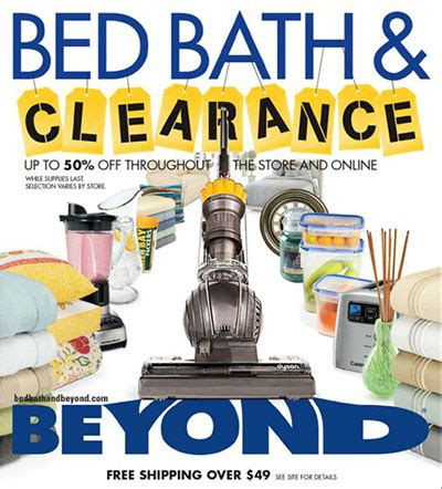 bed bath and beyond weekly ad bed bath and beyond circular 2016