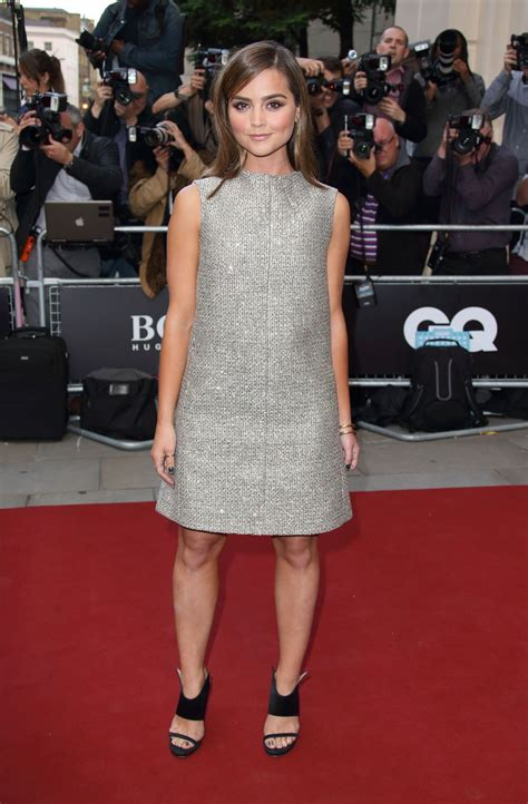 Jenna Coleman Gq Men Of The Year Awards 2015 In London | jenna coleman gq men of the year awards 2014 in london