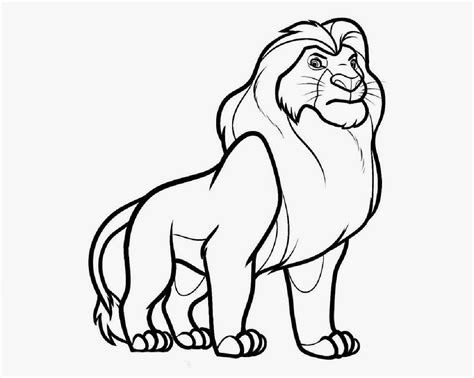 Disney Cartoon The Lion King For Kid Coloring Drawing Free Wallpaper Anggela Coloring Book For Drawing For To Color