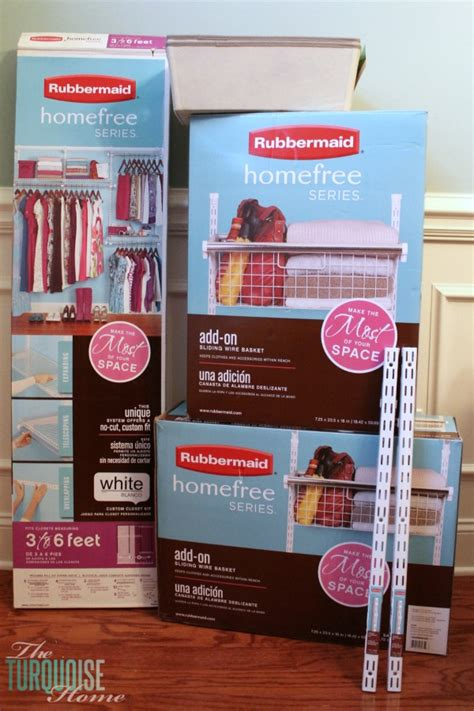 organizing miss a s new closet system the turquoise home