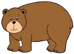 bear themed clipart
