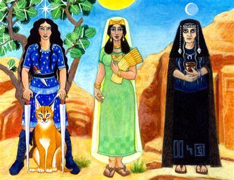 mahoma el gua al uzza allat and manat the triple goddesses of arabia