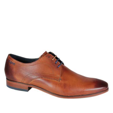 shoes for bugatti mens renato gibson tie derby shoe leather