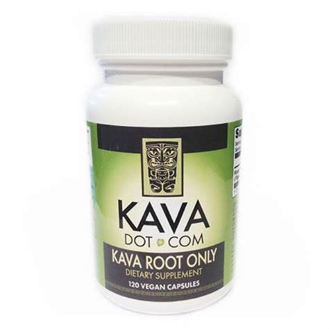 supplement kava 120ct kava kava root only supplement capsules for