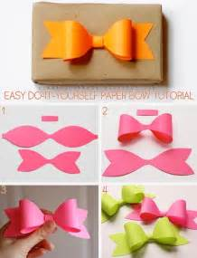 diy paper bow pictures photos and images for facebook pinterest and twitter