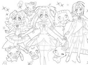 71 Dessins De Coloriage Jewelpet 224 Imprimer Sur LaGuerchecom Page Sketch Template