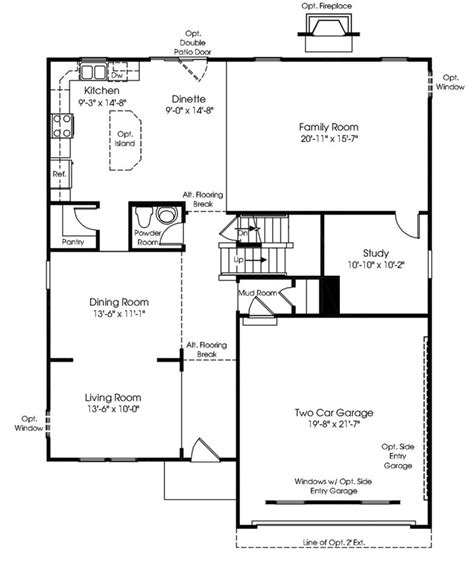 ryan homes rome floor plan custom floor plans and home designs