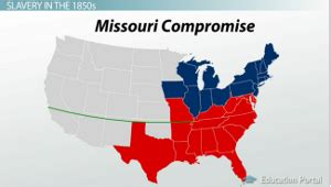 missouri compromise map activity tensions slavery lessons tes teach