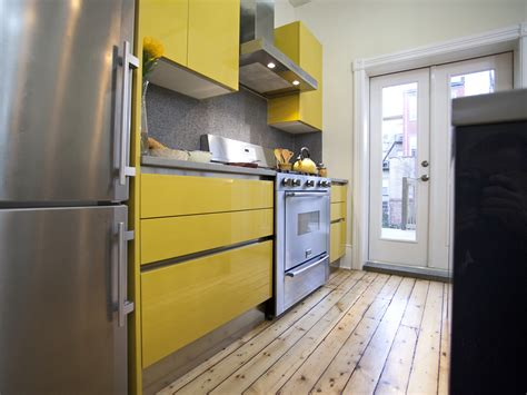 yellow modern kitchen low income kitchen decorated in yellow afreakatheart
