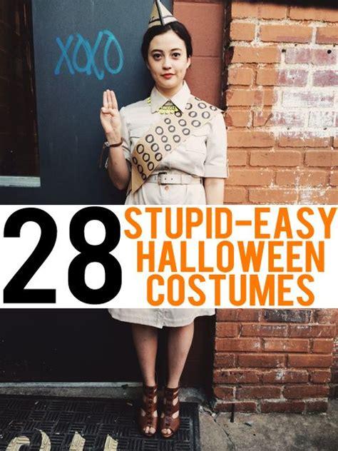 stupid easy costume ideas