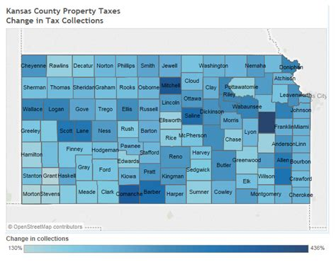 Liberty County Property Tax Records Kansas Property Tax Data The Interactive Visualization