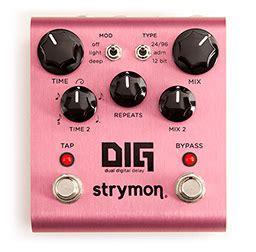 Strymon Giveaway - enter to win dig dual digital delay strymon