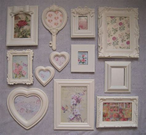 shabby chic wall picture frames 25 best ideas about shabby chic frames on