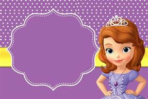 sofia the first invitation printable quotes