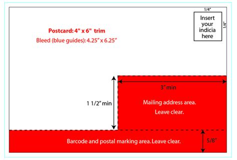 lenticular design and printing postal regulations