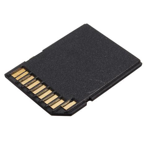 Micro Sd Lazada micro sd card to sd sdhc memory card adapter black lazada malaysia