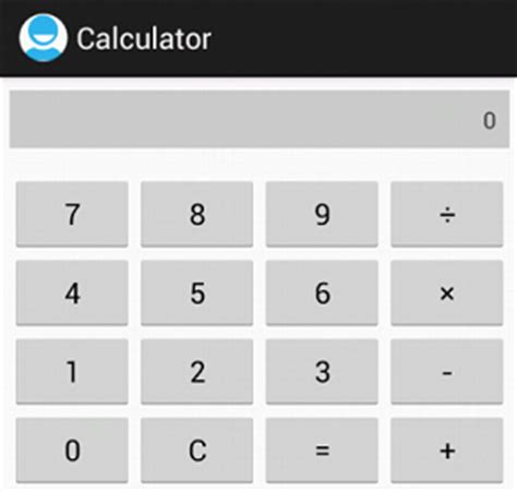 layout calculator java android basics and user interfaces