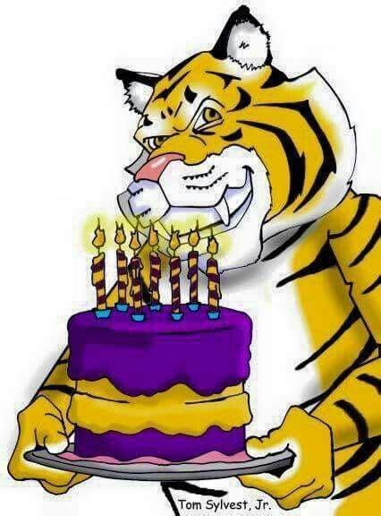 Tiger Woods Birthday Card lsu tiger s happy birthday card lsu tiger s pictures
