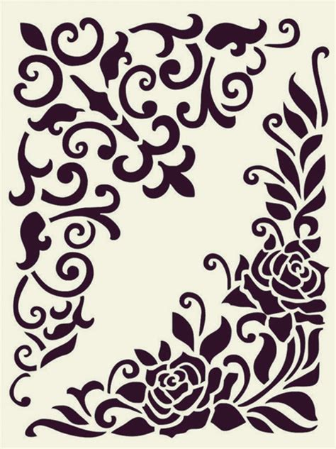 Simple Country Home Decor 40 printable stencil patterns for many uses