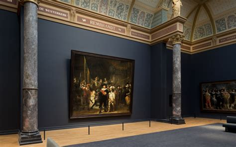 amsterdam museum flash mob actors restage rembrandt s quot night watch quot in mall