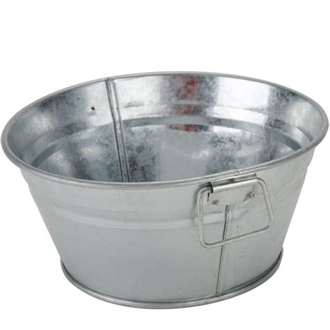 galvanized metal bathtub american metalcraft mtub63 round galvanized metal tub 6