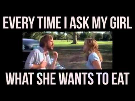 time    girl     eat youtube