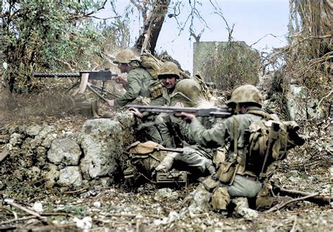 pacific color horrors of pacific war brought to in colour photos