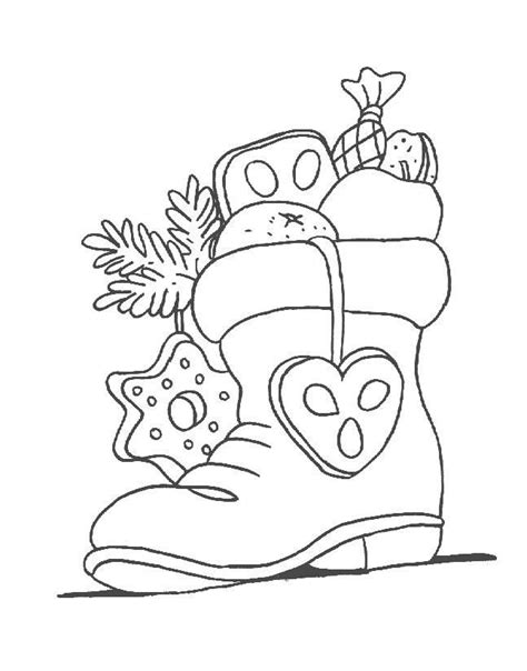 coloring pages for how to your nikolausstiefel ausmalbilder outdoor