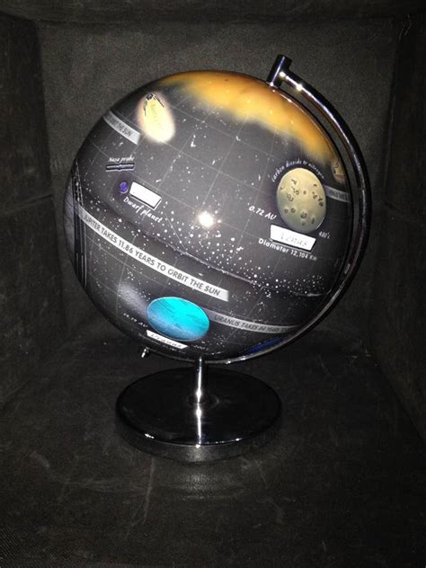 Light Up Solar System A Light Up Globe Of The Solar System By Globee