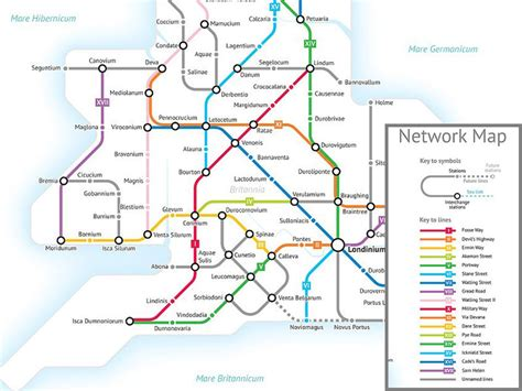 uk subway map the roads of britain visualized as a subway map