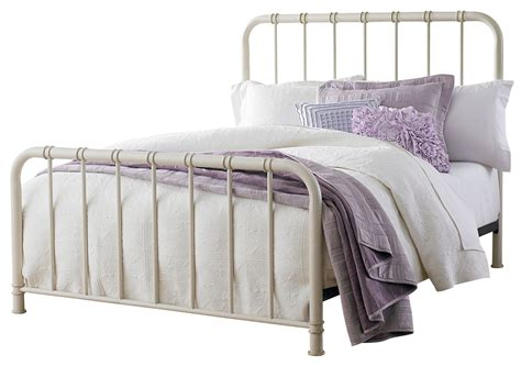 white metal twin bed tristen white twin metal bed from standard furniture coleman furniture