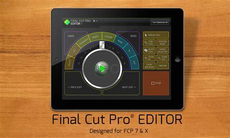 final cut pro on ipad control final cut pro and adobe premiere from ipad