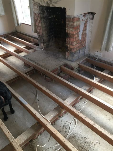 Replacing my suspended floor with an Insulated floating