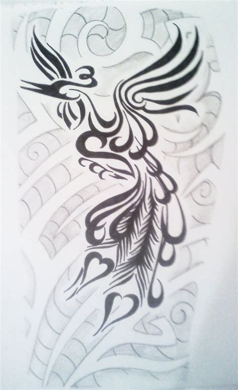 tribal peacock tattoo designs ideas design