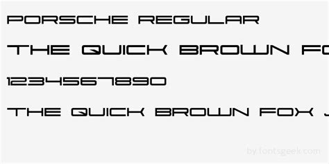 Porsche Font by Porsche Font Pictures To Pin On Pinsdaddy